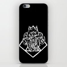 Goat as wolf iPhone & iPod Skin