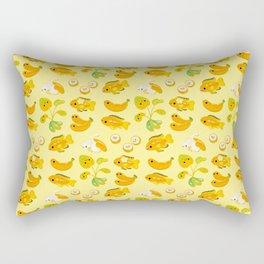 Banana cichlid Rectangular Pillow