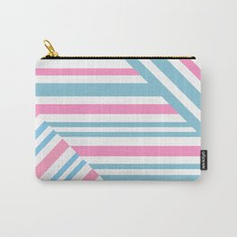 Geometric pattern. Striped triangles 2 Carry-All Pouch