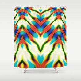Hippie Rainbows   Colourful Hippie Love Shower Curtain