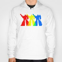 optimus prime Hoodies featuring Optimus Prime Colors by Christopher