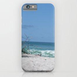 Beach scene at Manasota Key Florida iPhone Case