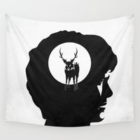 hannibal Wall Tapestries featuring Hannibal - Apéritif by zsutti