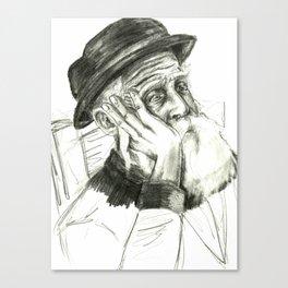 Tzeitel and the Woods, No. 60 Canvas Print