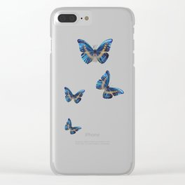 Morpho cypris Clear iPhone Case