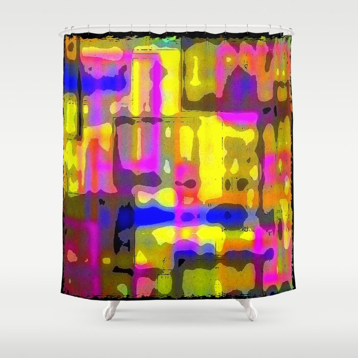 Mazed Shower Curtain