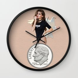 Dimepiece Wall Clock