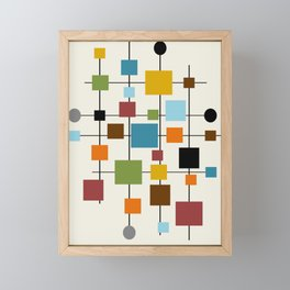 Mid-Century Modern Art 1.3 Framed Mini Art Print
