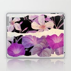 floral on torn paper Laptop & iPad Skin