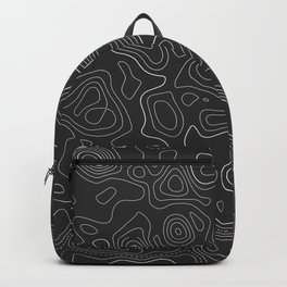 Topographic Map 02C Backpack