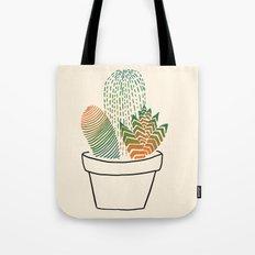 Succulent Study Tote Bag
