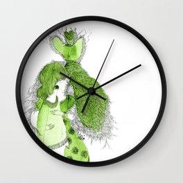 I hug myself Wall Clock