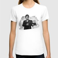 scarface T-shirts featuring Badass 80's Action Movie Quotes - Scarface by Casa del Kables