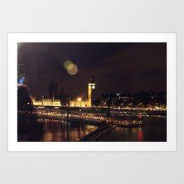 London Big Ben Art Print
