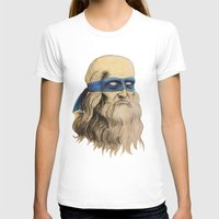 tmnt T-shirts featuring Leo TMNT by Rachel M. Loose