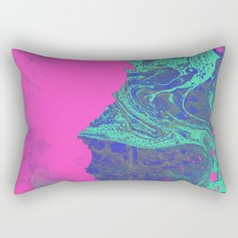 Under The Sea - Abstract Painting Rectangular Pillow