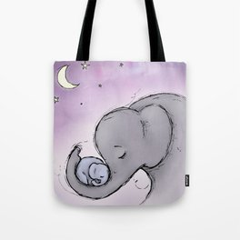 Goodnight Elephants Tote Bag