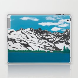 Banff Lake View Laptop & iPad Skin