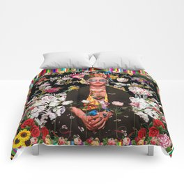 Frida OTT Kahlo You Are Too Much Comforters