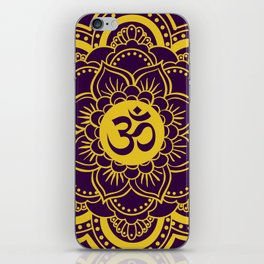 Lotus Vibrations iPhone Skin