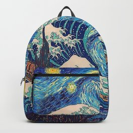 Starry Night (Sun&Water) Backpack