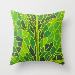 The Coming of Spring Throw Pillow