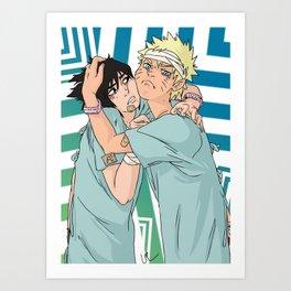 Bromance Art Print