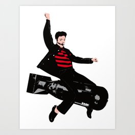 bom-boy Art Print
