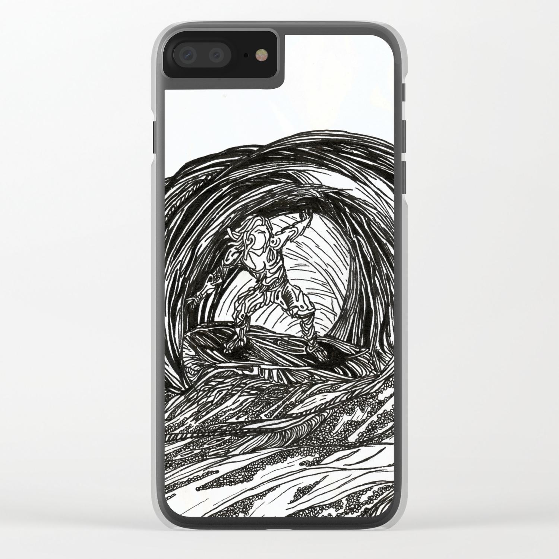 Riders' Transparent iPhone Case