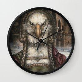Great Spirit Rising Wall Clock