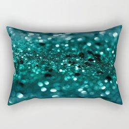 Sparkling OCEAN Glitter #1 #shiny #decor #art #society6 Rectangular Pillow
