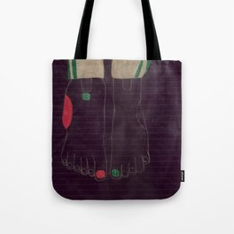 6 finger Tote Bag