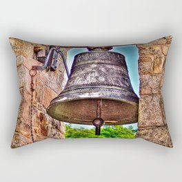 The Bell Tower Antique Stone Arches Rectangular Pillow