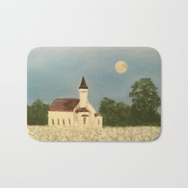 Rural church Bath Mat