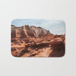Unusual Rock Formations at Kodachrome Park, Utah Bath Mat