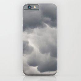 Mammatus Clouds 3 iPhone Case