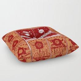 Twelve precious stones Floor Pillow