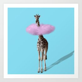 Giraffe 3 Art Print