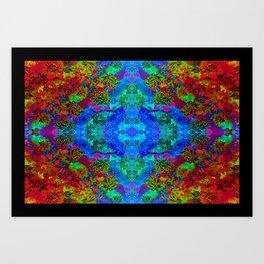 LSD Flower Art Print