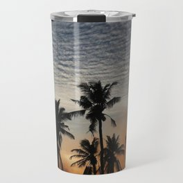 Sunset in maldives Travel Mug