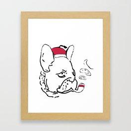 Ruffsevelt Framed Art Print