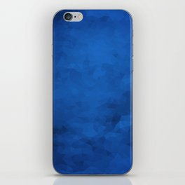 LowPoly Blue iPhone Skin