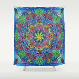The Elven Portal Shower Curtain
