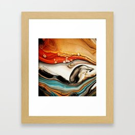 """Canadian Beaver"" Framed Art Print"