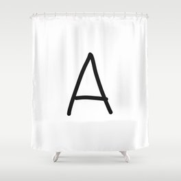 A LOVE Shower Curtain