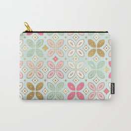 MORROCCAN TILE - ALEXA SPRING MINT Carry-All Pouch