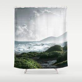 Sandy Beach, Hawaii Shower Curtain