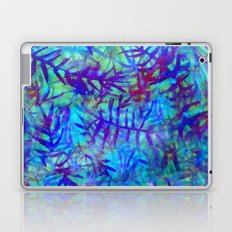Electric Palms - Aqua Laptop & iPad Skin