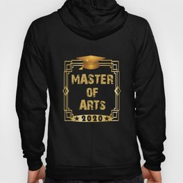 FH Uni Master of Arts 2020 graduation gift Hoody