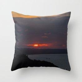 Sunset 2 Throw Pillow